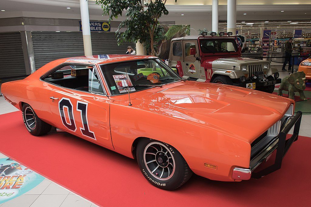 A picture of general Lee on display