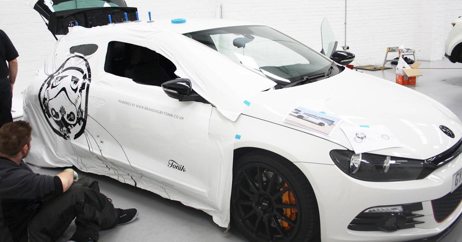 3M Vinyl Wrapping at The Vehicle Wrapping Centre