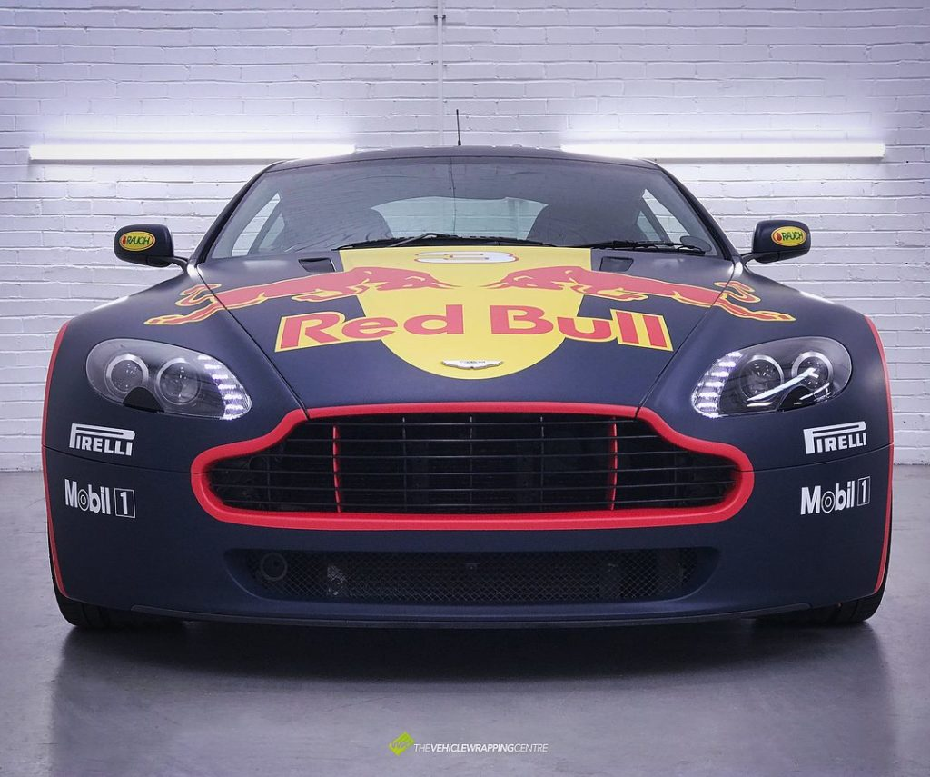 Aston Martin Vantage Full Colour Change Graphics On Top