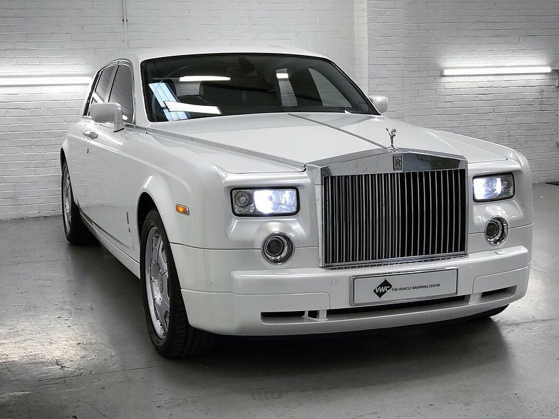 Rolls Royce Phantom- Gloss Pearl White Personal Vehicle ...
