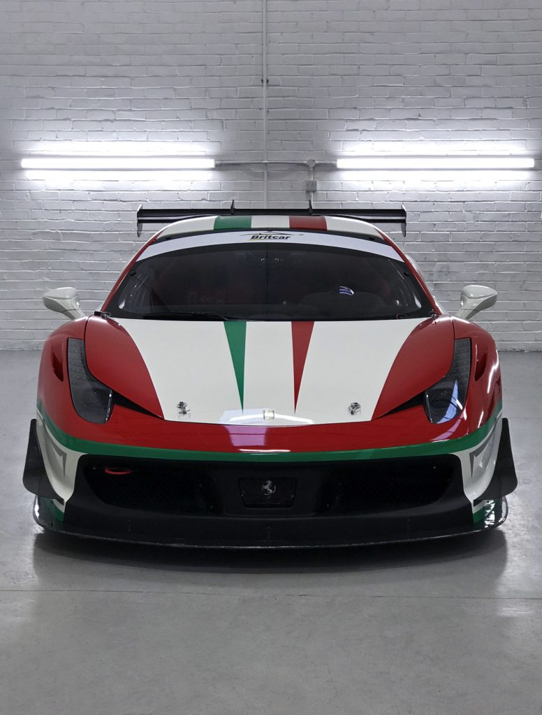 Ferrari 458 Challenge Evo Personal Vehicle Wrap Project