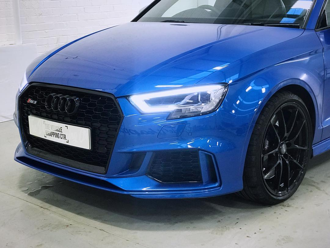 Audi Rs3 Blackout Transformation Personal Vehicle Wrap Project