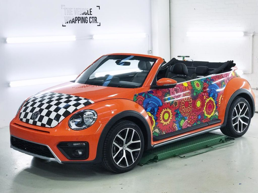 Vw Beetle Full Exterior Wrap Personal Vehicle Wrap Project
