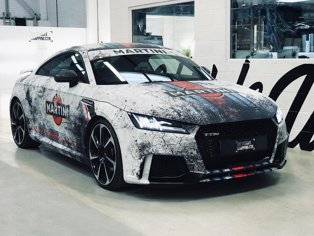 Audi Wrap Examples The Vehicle Wrapping Centre
