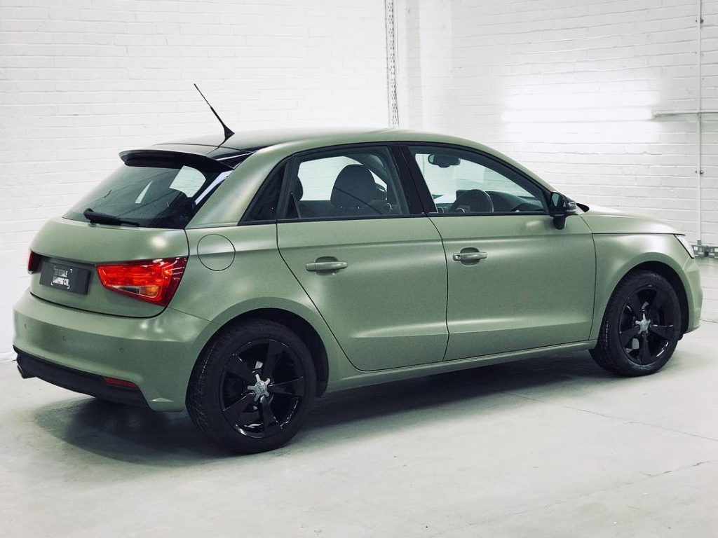 What Is A Livery Vehicle >> Audi A1- Exterior Wrap in Avery Khaki Green Personal ...