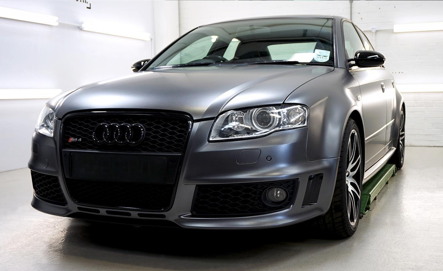 Audi Rs4 Full Colour Change In 3m Satin Dark Grey Personal