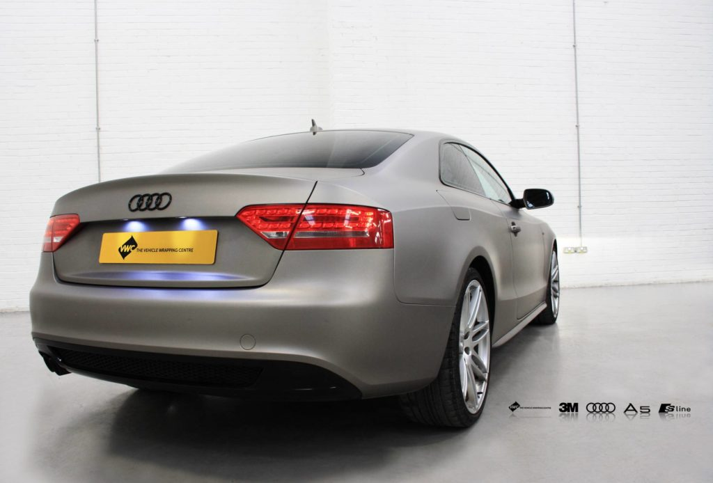 Audi A5 S Line Personal Vehicle Wrap Project