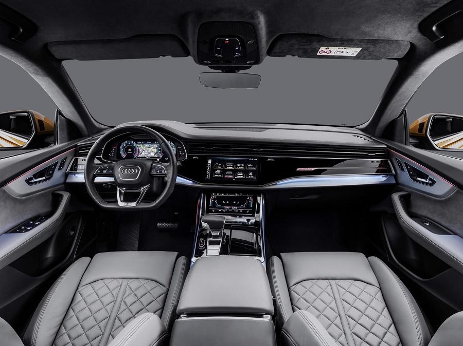 Interior of new AudiQ8