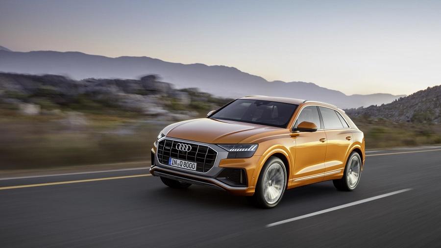 Audi Q8 at play