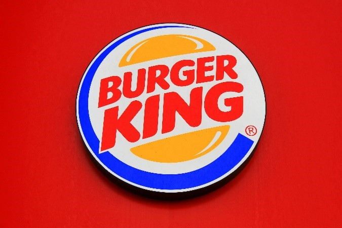 Burger king red tone