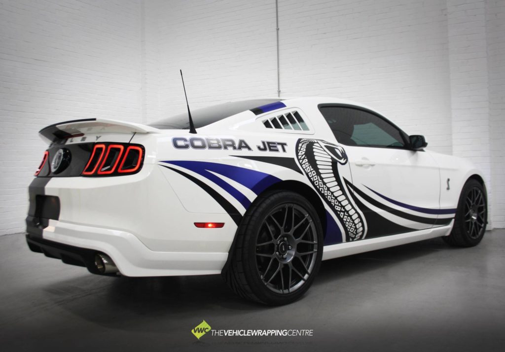 Ford Shelby Mustang Cobra Jet Personal Vehicle Wrap Project