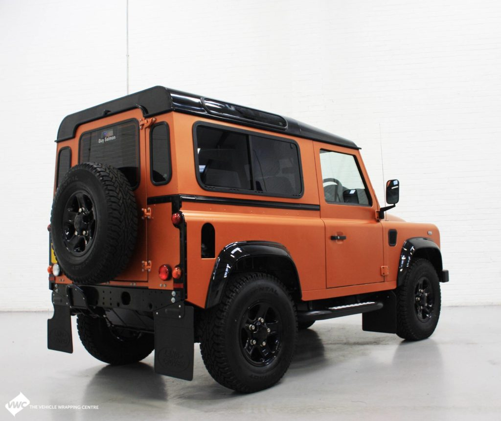 Land Rover Defender 3m Satin Copper Canyon Personal