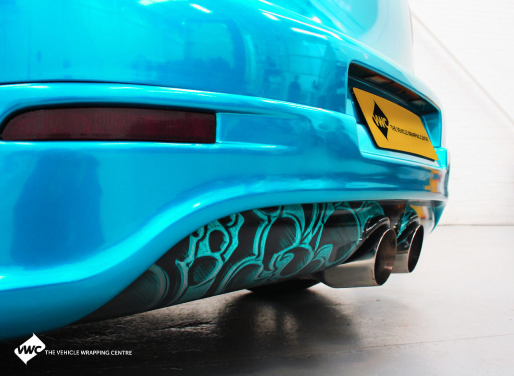 Vw Golf 3m 1080 Gloss Atomic Teal Personal Vehicle Wrap