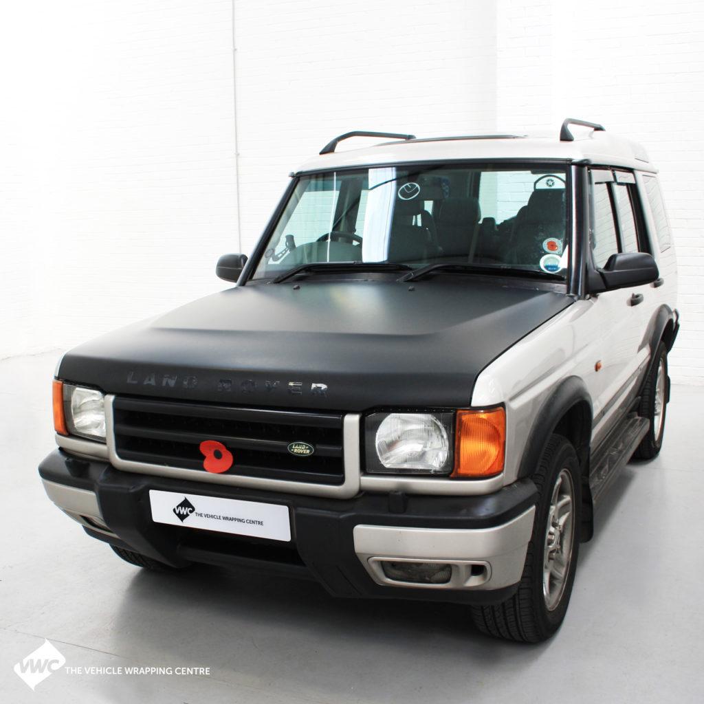 Land Rover 3m 1080 Matte Black Personal Vehicle Wrap Project