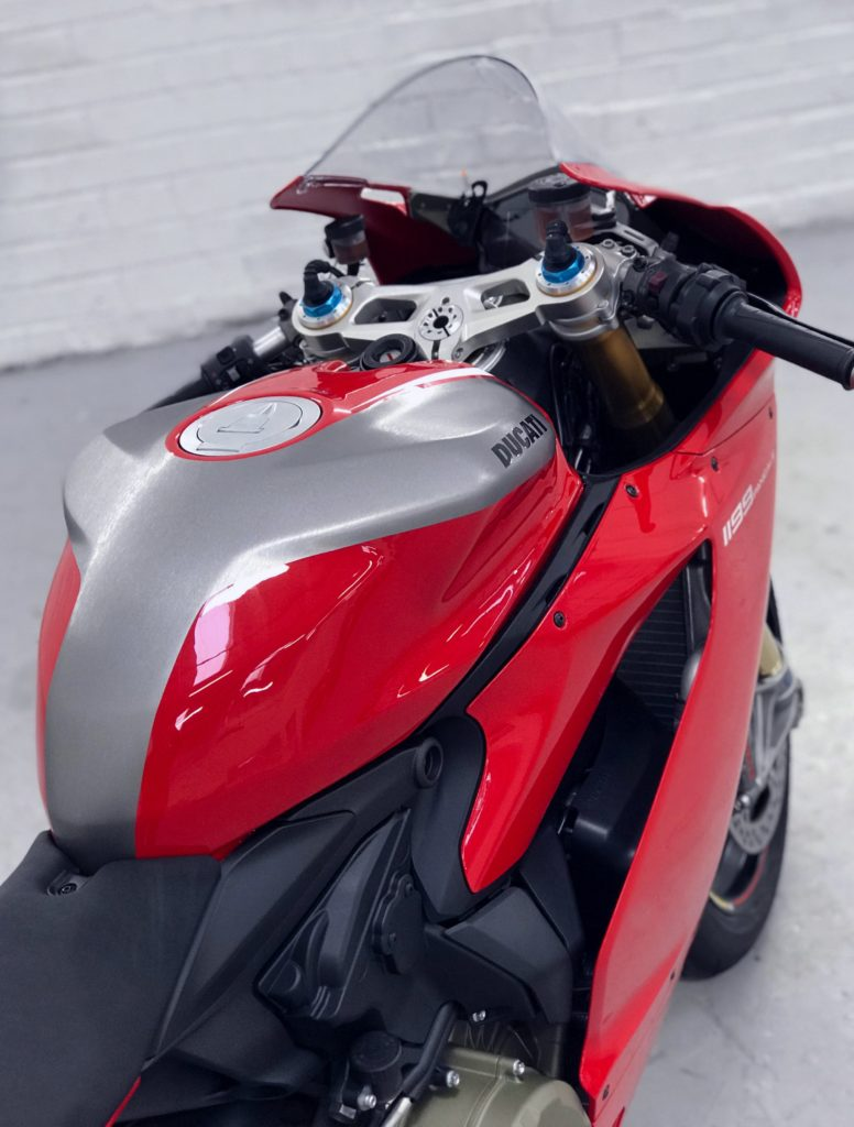 Ducati 1199 Panigale Personal Vehicle Wrap Project