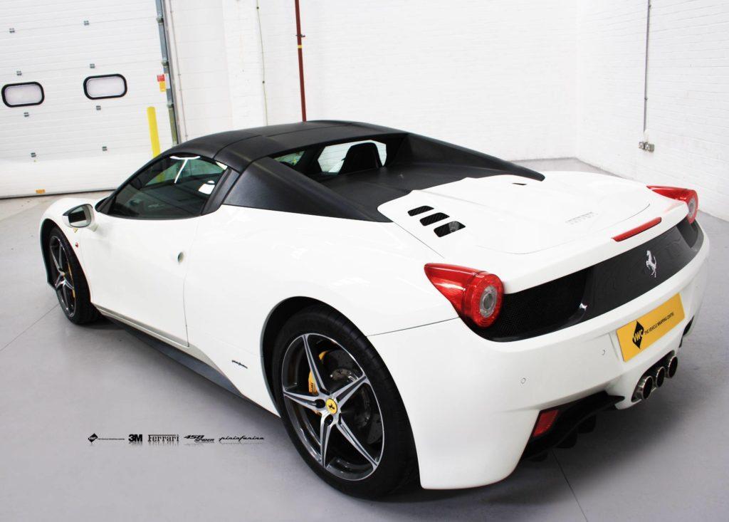 Ferrari 458 3m Straight Black Carbon Fibre Personal
