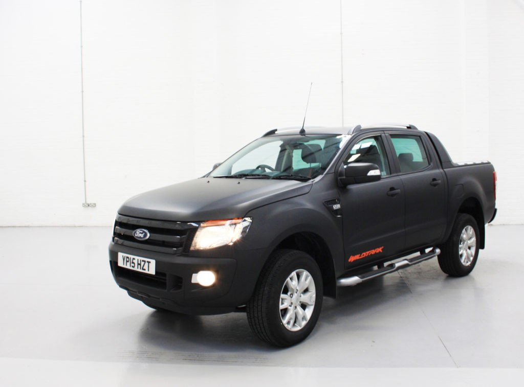 Ford Ranger All Black Personal Vehicle Wrap Project