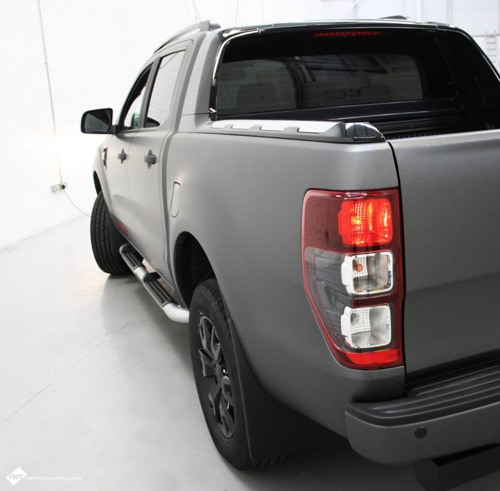Ford Ranger 3m Matte Metallic Grey Personal Vehicle Wrap
