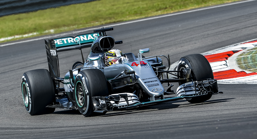 Mercedes AMG Petronas Formula One Team driver Lewis Hamilton during 2016 Formula 1 Petronas Malaysia Grand Prix.