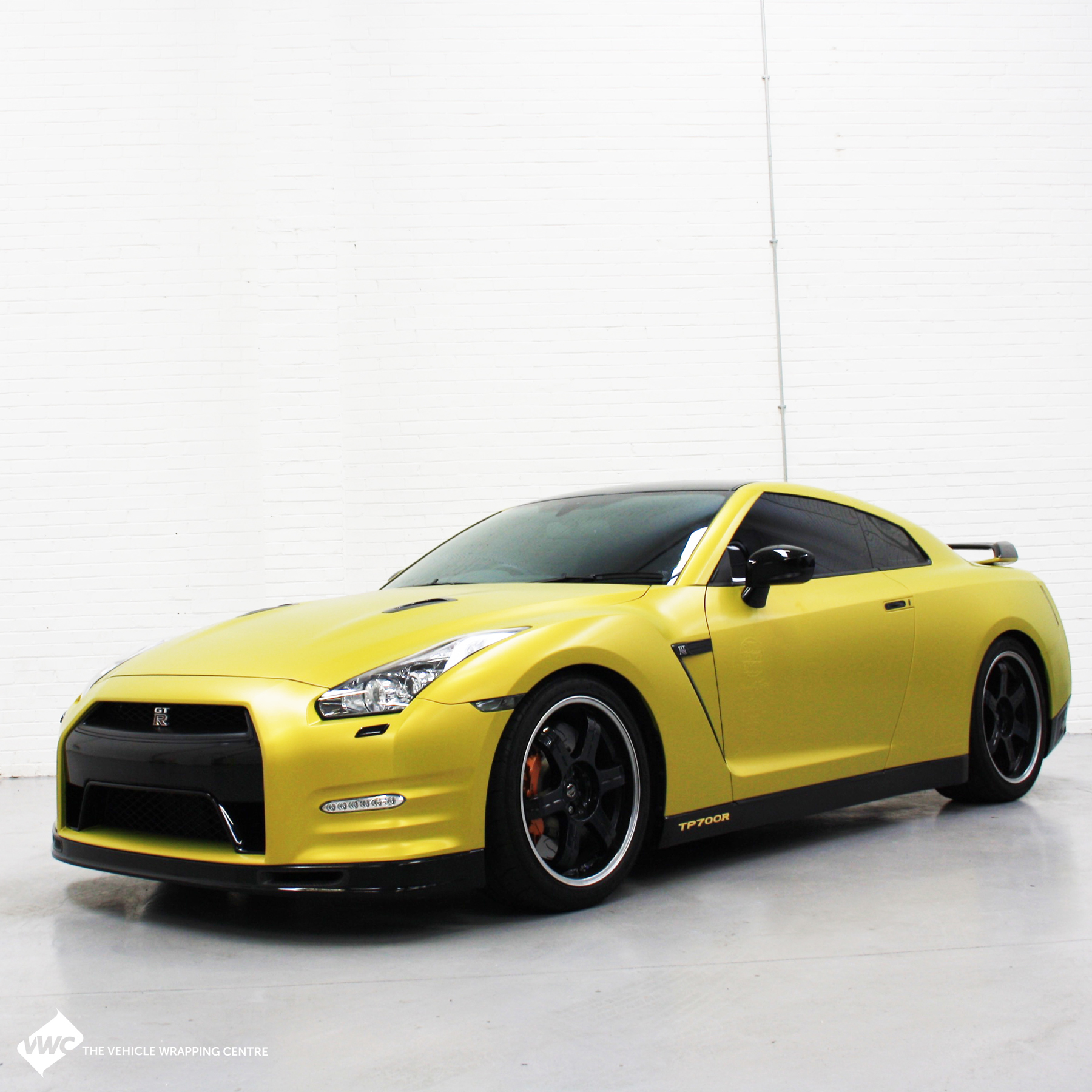 Nissan Gt R Yellow 3m Satin Bitter Yellow Personal Vehicle