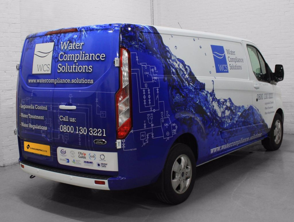 Water Compliance Solutions Commercial Vehicle Wrap Project