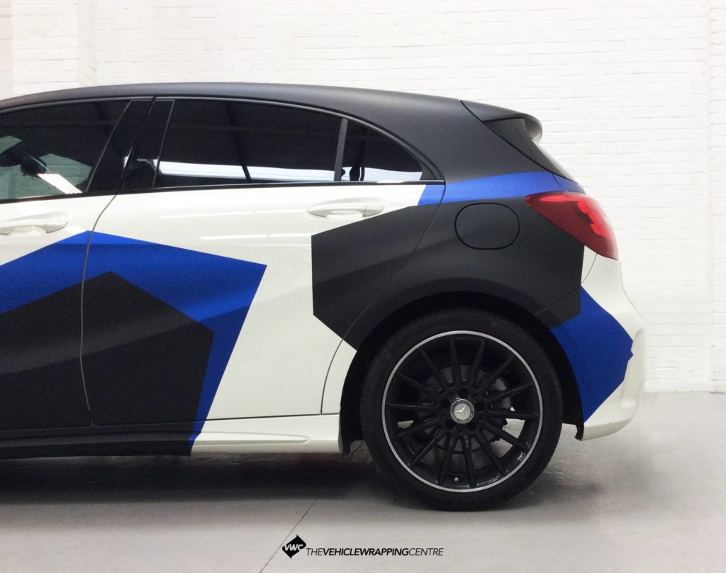 Mercedes A Class Camo Personal Vehicle Wrap Project