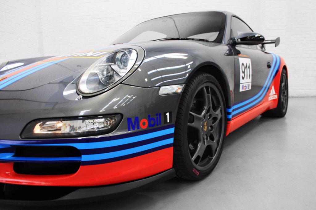 Porsche 997 Martini Racing Livery Personal Vehicle Wrap