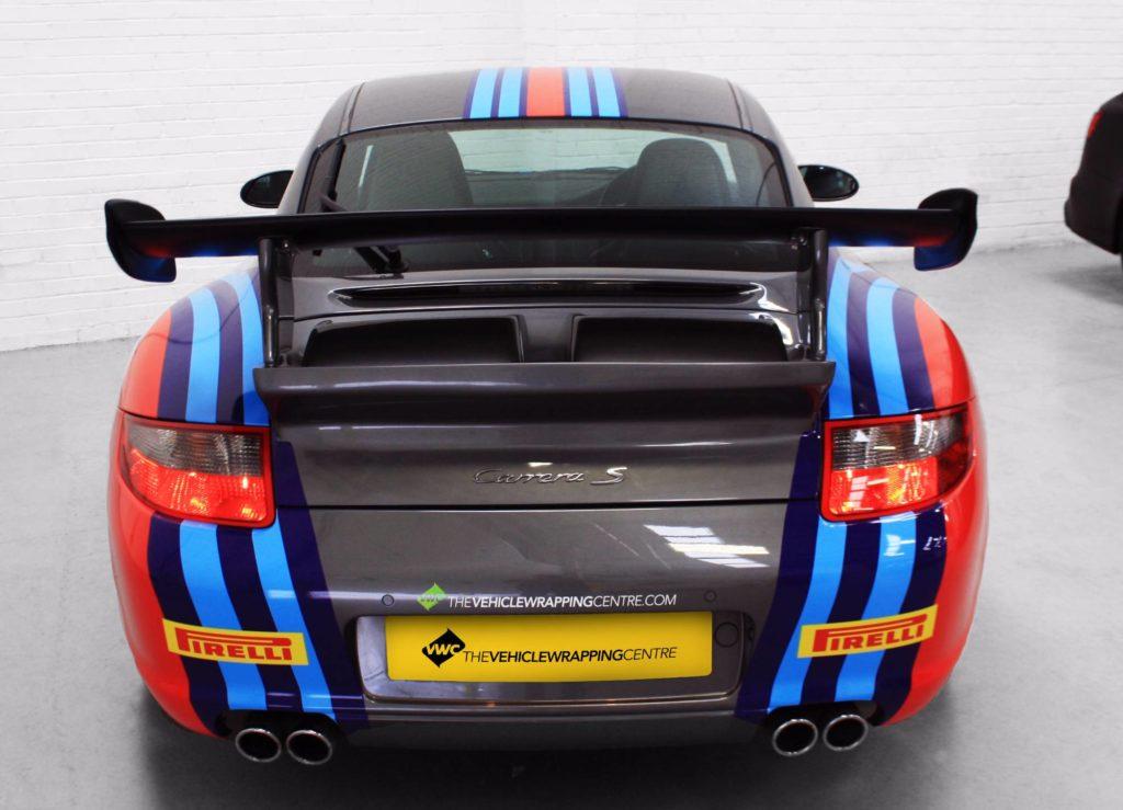Porsche 997 Martini Racing Livery Personal Vehicle Wrap