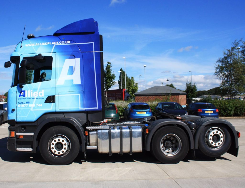 Allied Plant Commercial Vehicle Wrap Project
