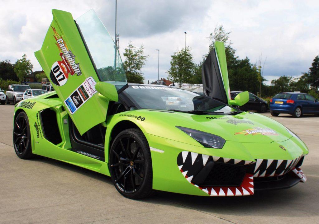 Truck Vinyl Wrap >> Lamborghini Aventador - Sharks Teeth Personal Vehicle Wrap Project