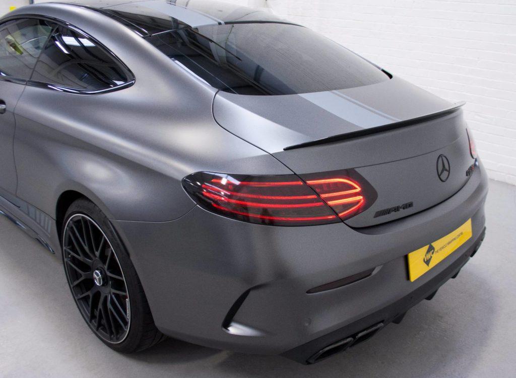 Mercedes Benz C Class Coupe 3m Statin Dark Grey Amp 3m