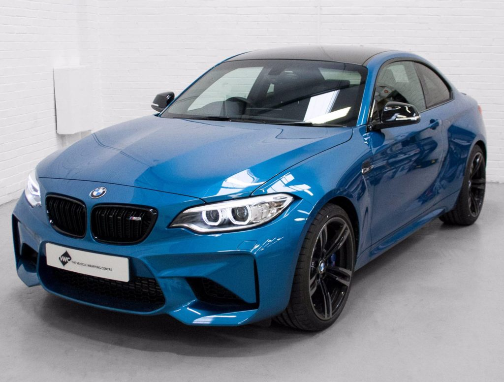 Bmw M2 3m Gloss Black Personal Vehicle Wrap Project