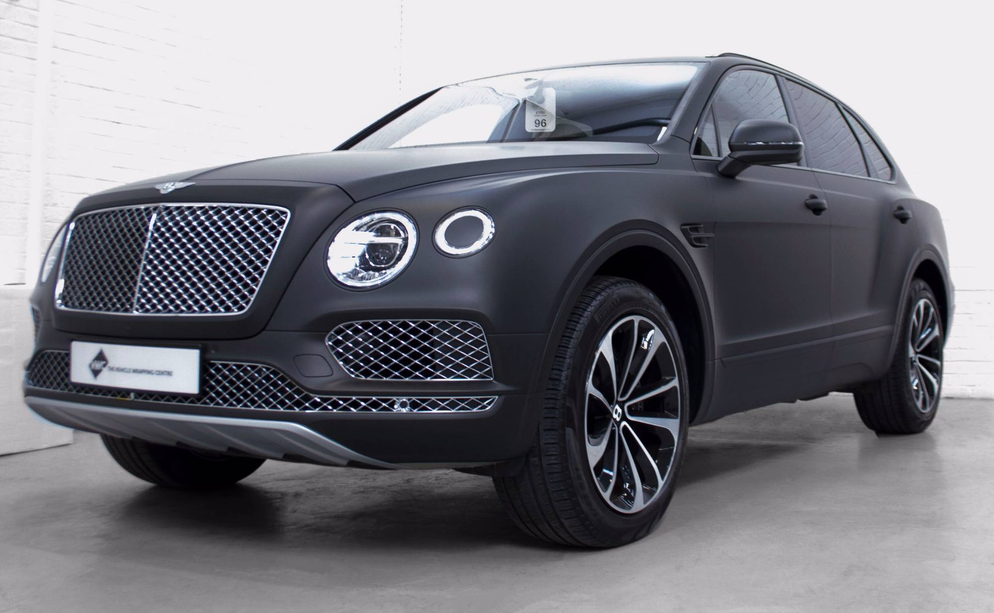 Bentley Bentayga 3m Matte Black Personal Wrapping Project