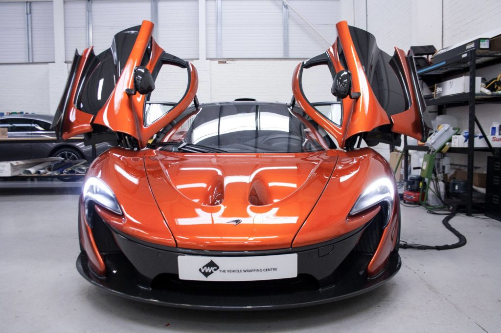 McLaren P1 - Gulf Racing Livery Personal Vehicle Wrap Project