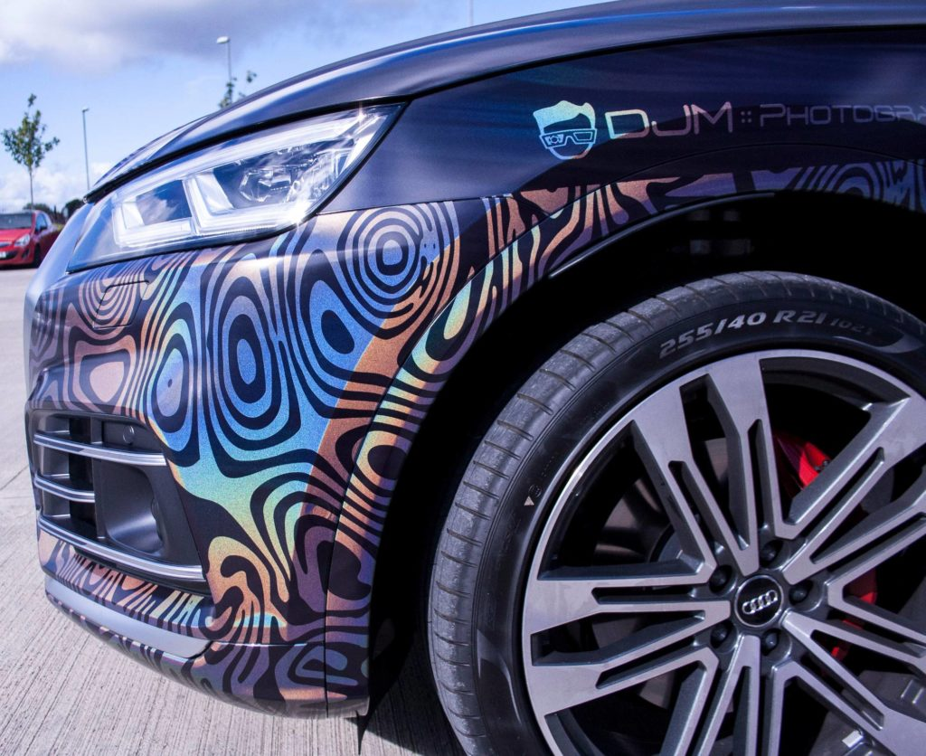 Audi SQ5 Rico Rally 3M Psychedelic Personal Vehicle Wrap