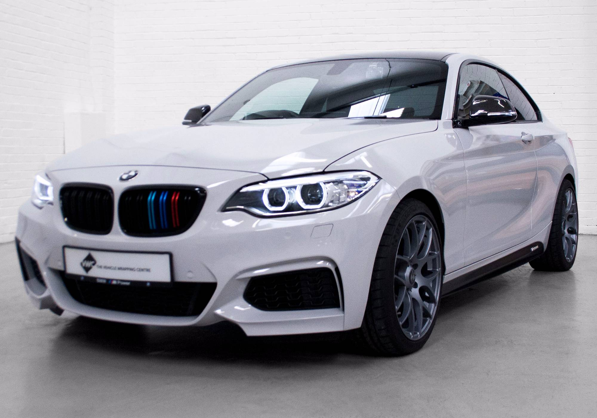 BMW Series M Gloss Storm Grey Personal Vehicle Wrap Project - Bmw 3m series