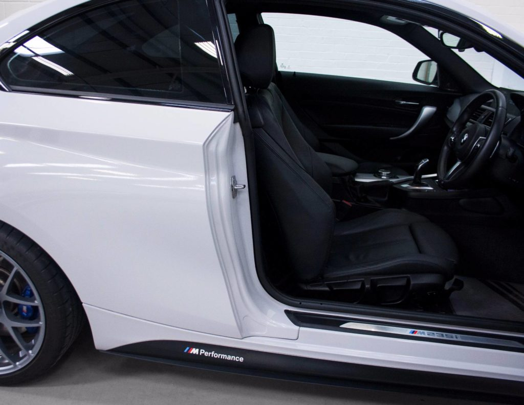Bmw 2 Series 3m Gloss Storm Grey Personal Vehicle Wrap
