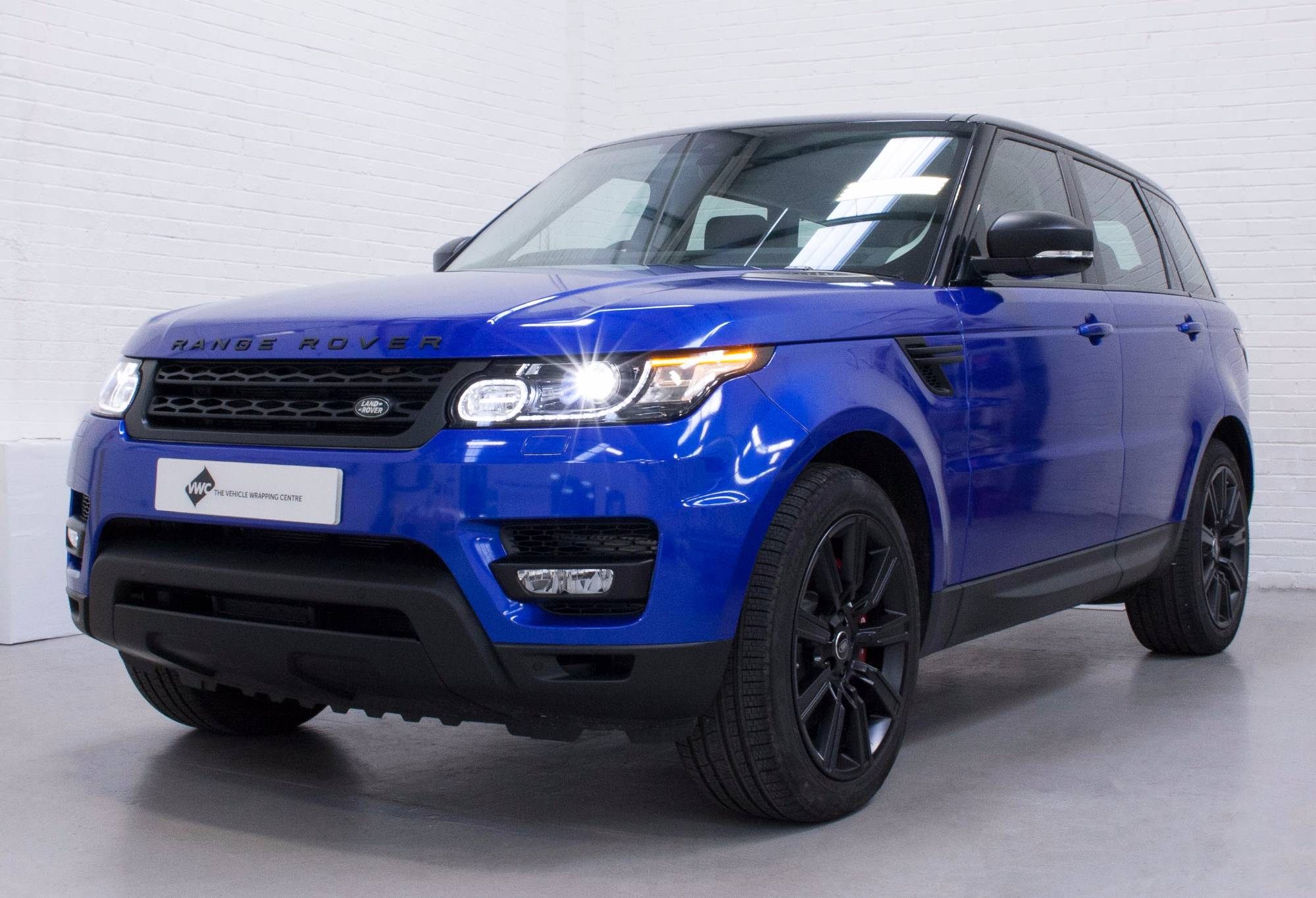 range rover sport 3m gloss cosmic blue personal vehicle. Black Bedroom Furniture Sets. Home Design Ideas