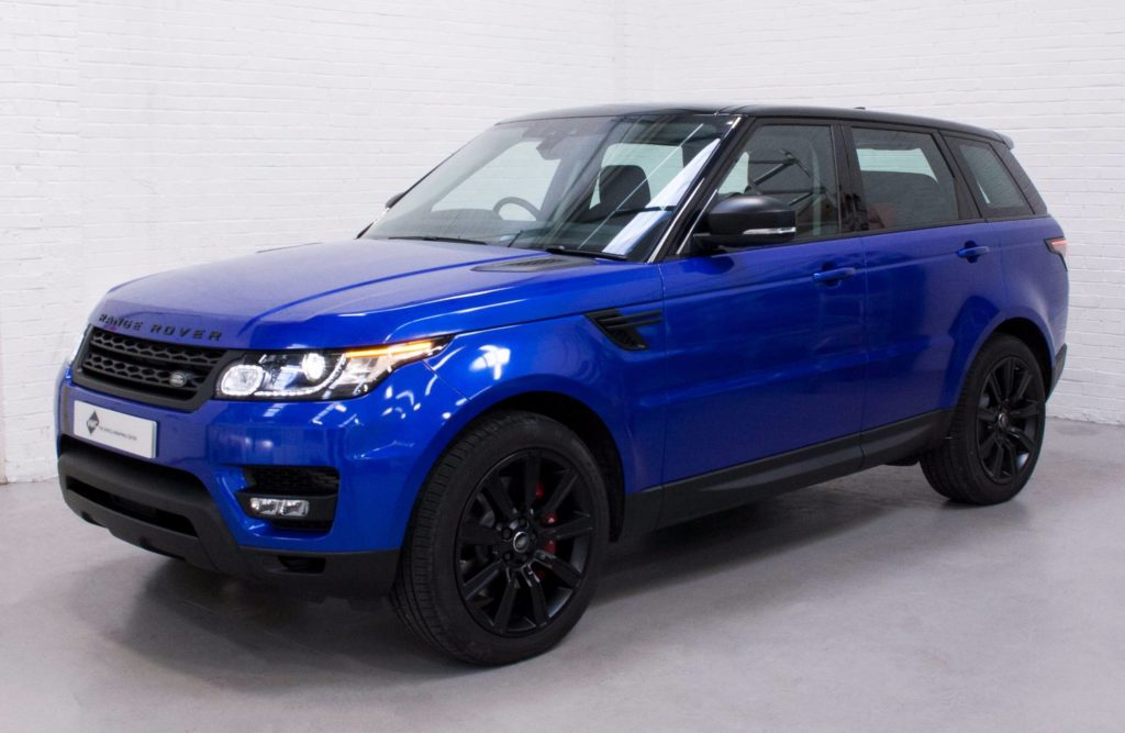 Range Rover Sport 3m Gloss Cosmic Blue Personal Vehicle