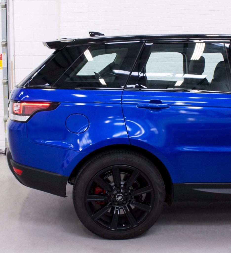 Range Rover Sport 3m Gloss Cosmic Blue Personal Vehicle