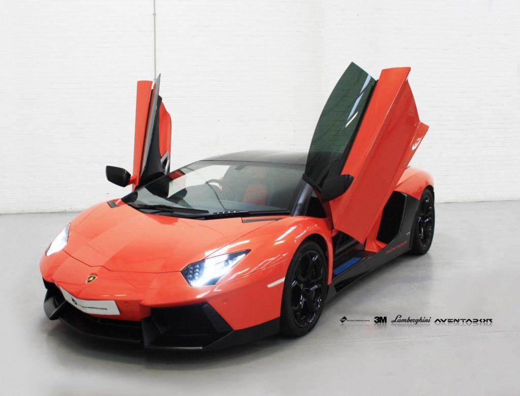 Lamborghini Aventador Avery Supreme Satin Black Personal