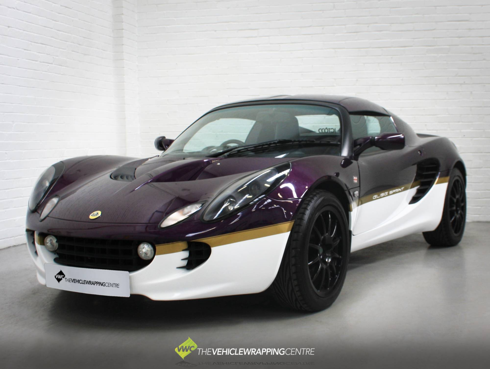 lotus elise elise sprint personal vehicle wrap project. Black Bedroom Furniture Sets. Home Design Ideas