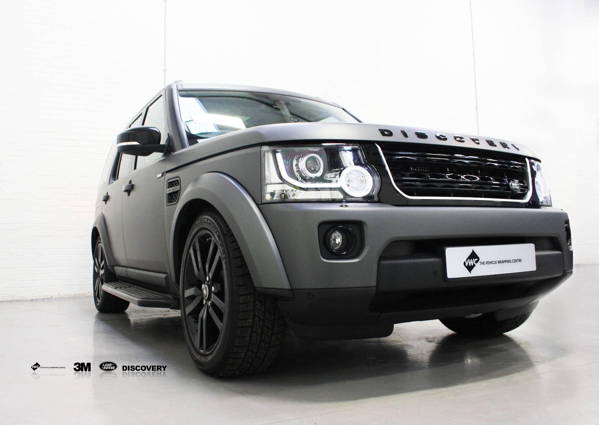 land rover discovery 3m matte metallic grey personal. Black Bedroom Furniture Sets. Home Design Ideas