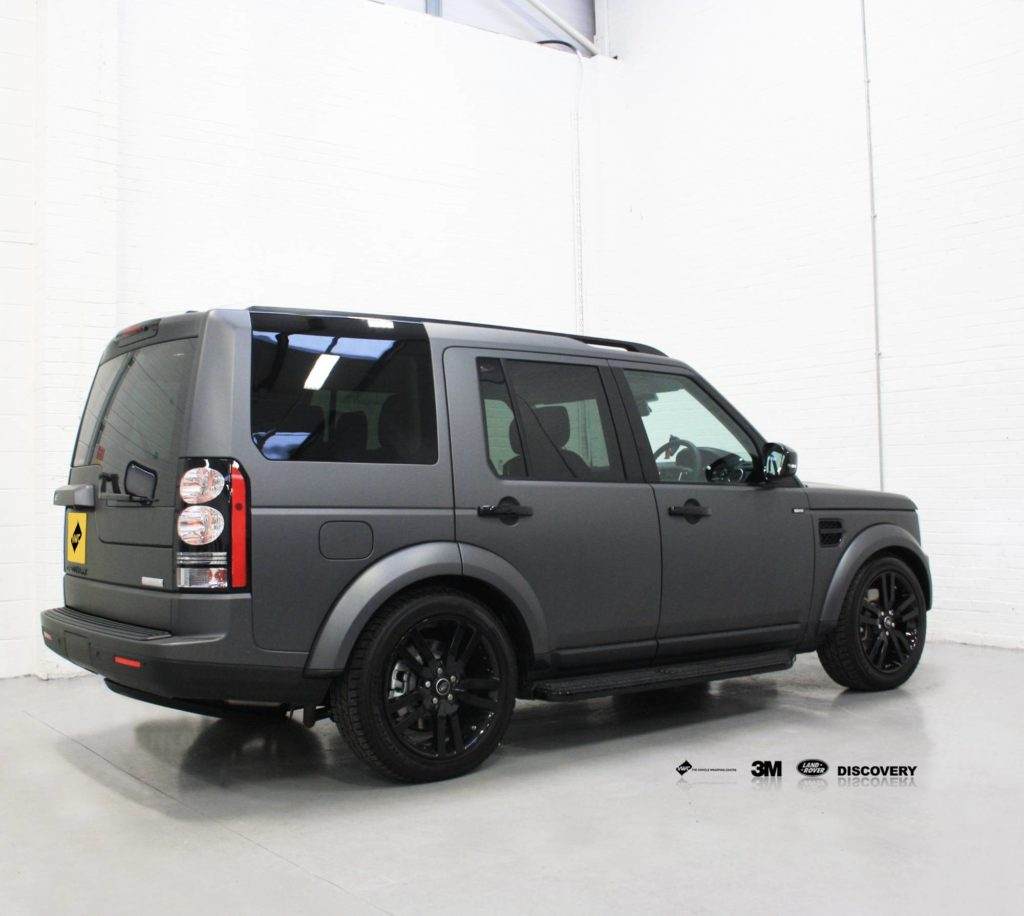 Land Rover Discovery 3m Matte Metallic Grey Personal