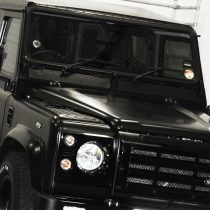 Land Rover Matt Black Close up
