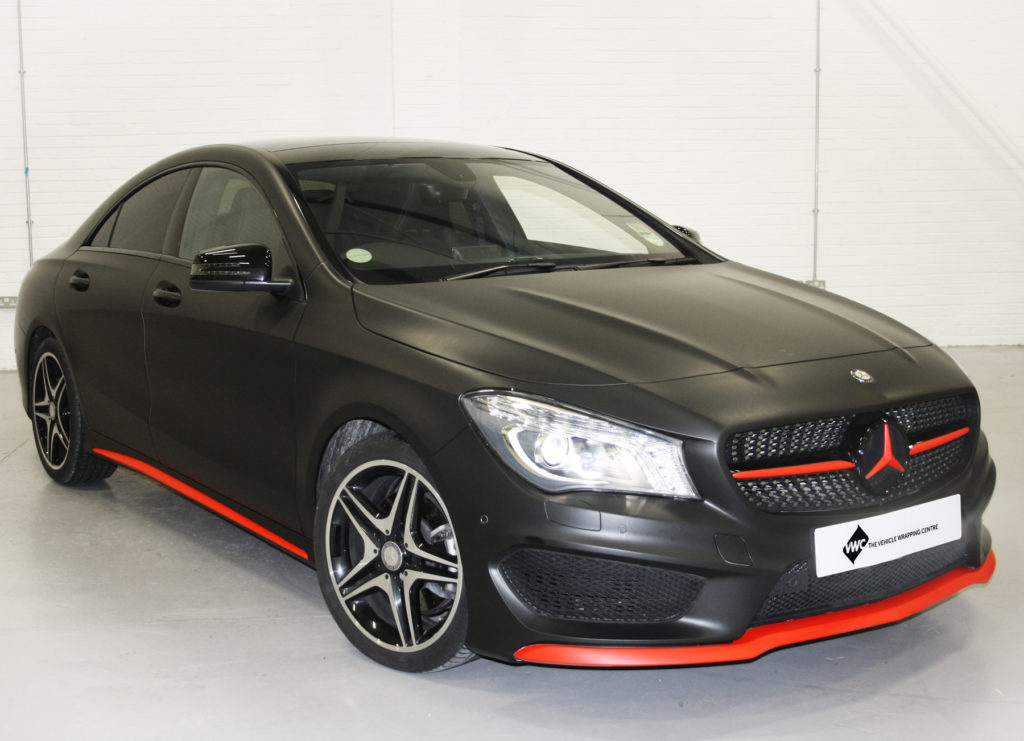 Mercedes Cla Personal Vehicle Wrap Project