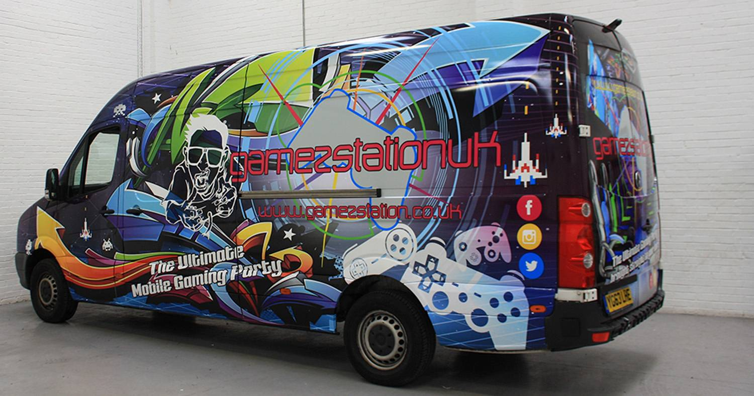 abb85daa9c Van Wraps at The Vehicle Wrapping Centre