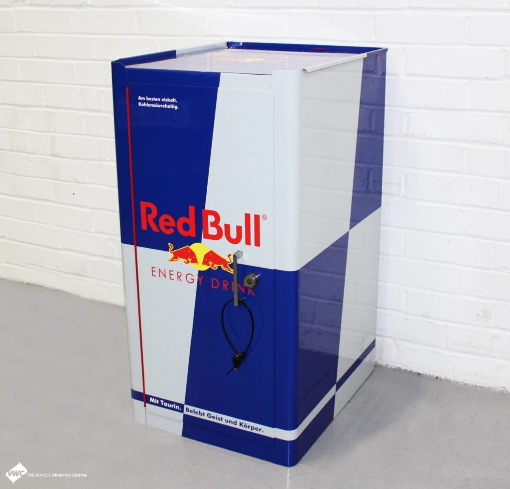 Redbull Tool Box Personal Vehicle Wrap Project