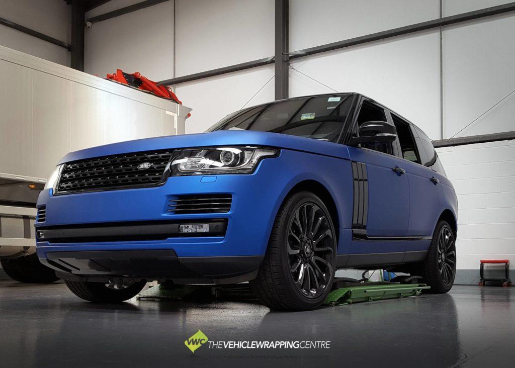 Range Rover Vvivid Satin Blue Chrome Personal Vehicle