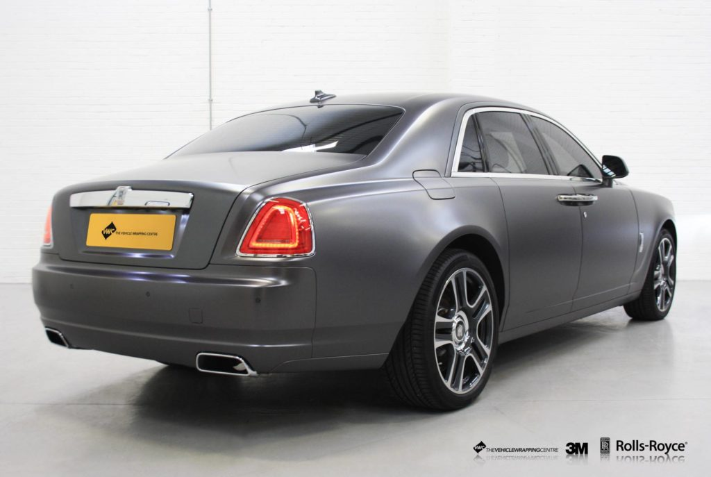 Rolls Royce Vehicle Wrap Manchester